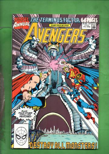 The Avengers Annual Vol 1 #19 90