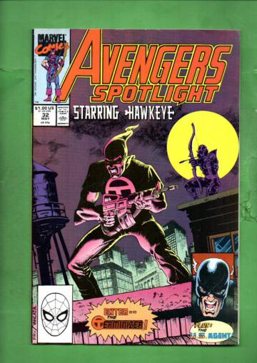 Avengers Spotlight Vol 1 #32 May 90