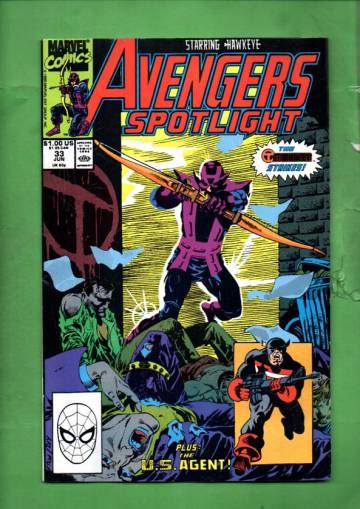 Avengers Spotlight Vol 1 #33 Jun 90