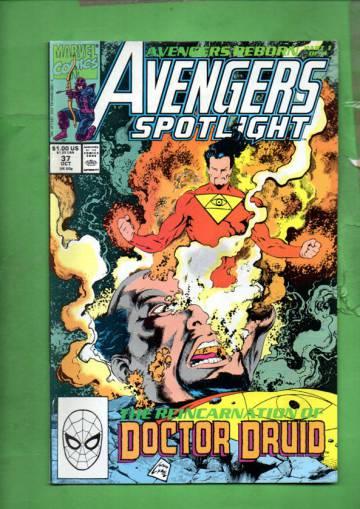 Avengers Spotlight Vol 1 #37 Oct 90