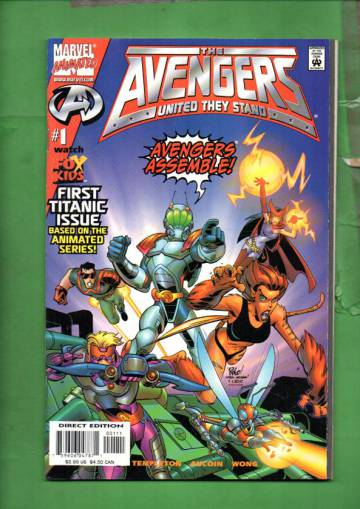 Avengers United They Stand Vol 1 #1 Nov 99