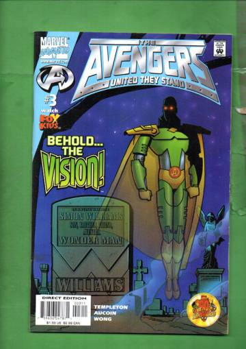 Avengers United They Stand Vol 1 #3 Jan 00