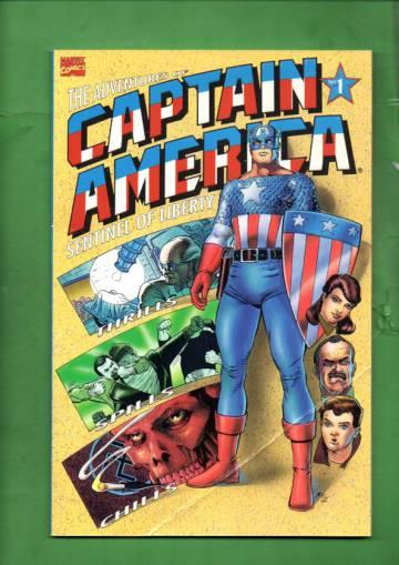 Adventures of Captain America Vol 1 #1 (of 4) Sep 91