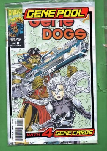 Gene Dogs Vol. 1 #1 Oct 93 (avaamaton pakkaus, sisältää kortit)