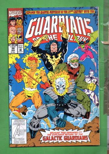 Guardians of the Galaxy Vol. 1 #35 Apr 93