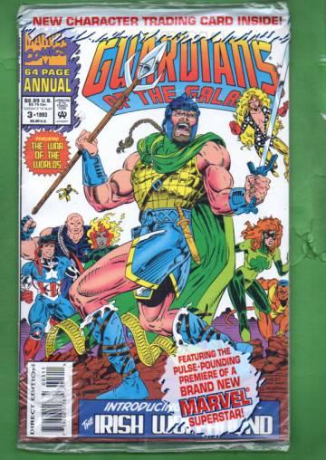 Guardians of the Galaxy Annual Vol. 1 #3 93 (avaamaton pakkaus, sisältää kortit)