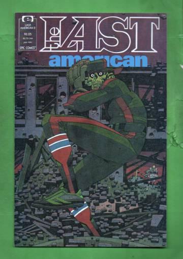 The Last American Vol. 1 #2 Jan 91
