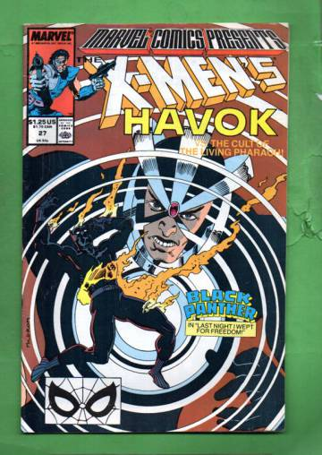Marvel Comics Presents Vol. 1 #27 Early Sep 89