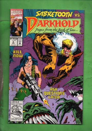 Darkhold: Pages from the Book of Sins Vol. 1 #4 Jan 93