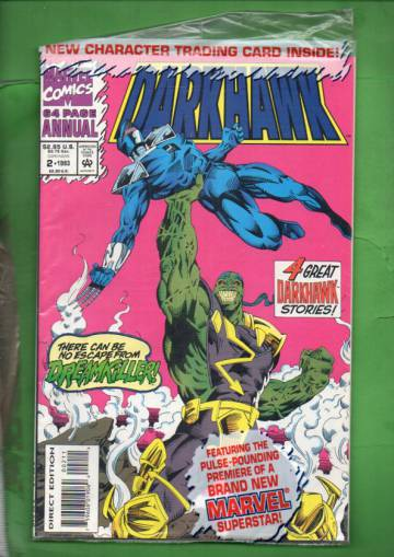 Darkhawk Annual Vol. 1 #2 93 (avaamaton pakkaus, sisältää kortit)