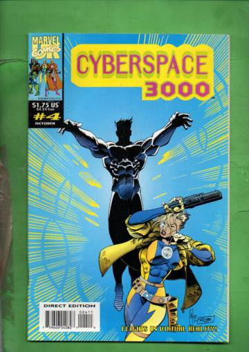 Cyberspace 3000 Vol. 1 #4 Oct 93