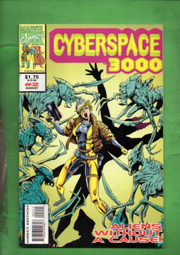 Cyberspace 3000 Vol. 1 #2 Aug 93