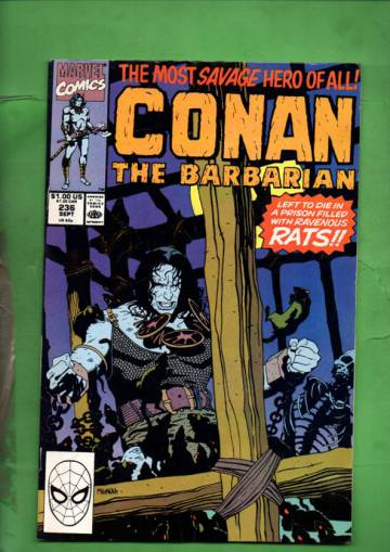 Conan the Barbarian Vol. 1 #236 Sep 90
