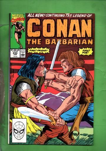 Conan the Barbarian Vol. 1 #233 Jun 90