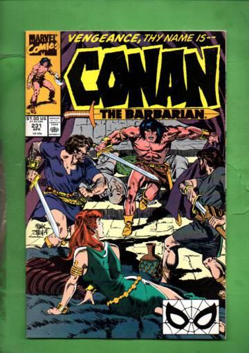 Conan the Barbarian Vol. 1 #231 Apr 90