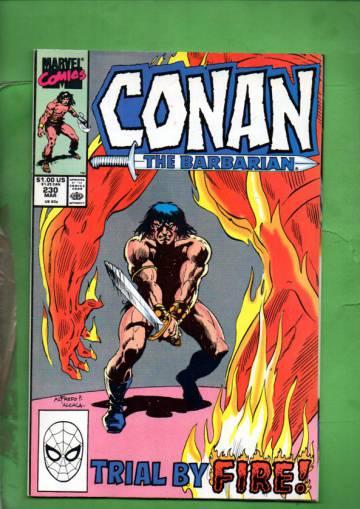 Conan the Barbarian Vol. 1 #230 Mar 90