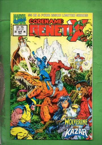 Codename: Genetix Vol. 1 #3 Apr 93