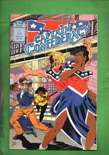 Captain Confederacy #2 Dec 91