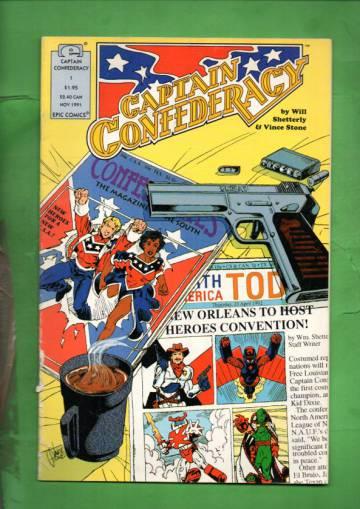 Captain Confederacy #1 Nov 91