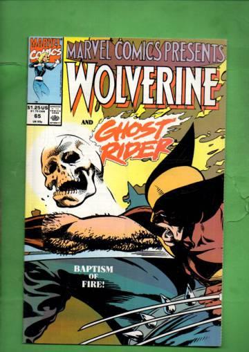 Marvel Comics Presents Vol. 1 #65 90