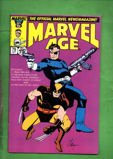 Marvel Age Vol. 1 #79 Oct 89