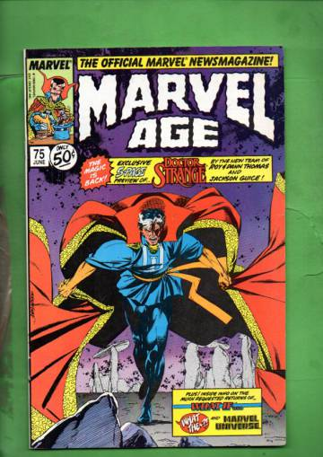 Marvel Age Vol. 1 #75 Jun 89
