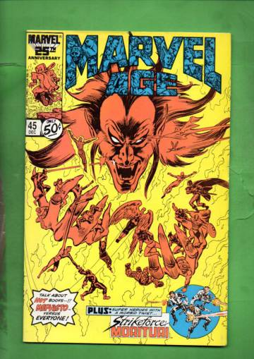 Marvel Age Vol. 1 #45 Dec 86