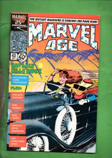 Marvel Age Vol. 1 #43 Oct 86