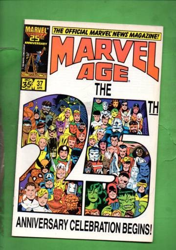 Marvel Age Vol. 1 #37 Apr 86