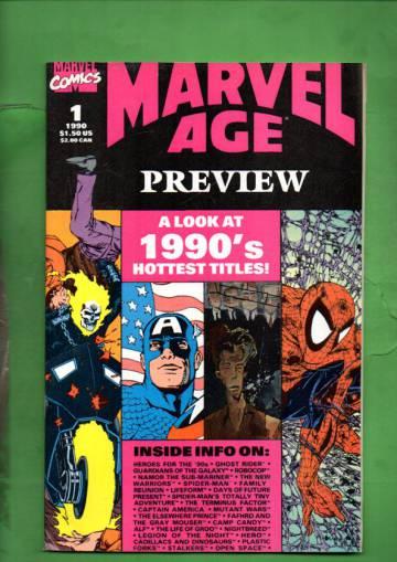 Marvel Age Preview Vol. 1 #1 Jun 90