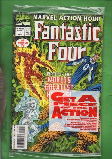 Marvel Action Hour, Featuring Fantastic Four Vol. 1 #1 Nov 94 (avaamaton pakkaus, sisältää liitteen)