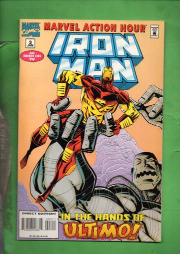 Marvel Action Hour, Featuring Iron Man Vol. 1 #3 Jan 95