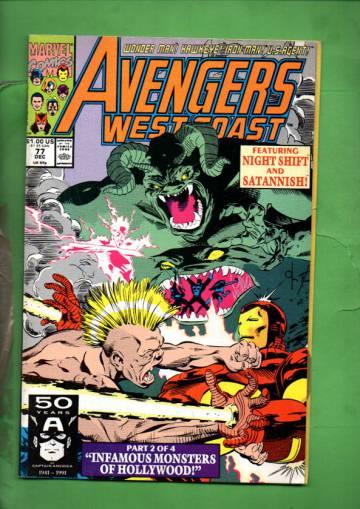 Avengers West Coast Vol 2 #77 Dec 91