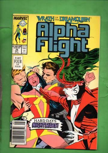 Alpha Flight Vol. 1 #70 May 89