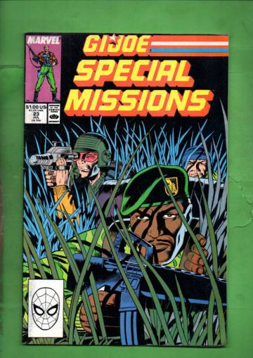 G.I. Joe Special Missions Vol. 1 #23 Jul 89