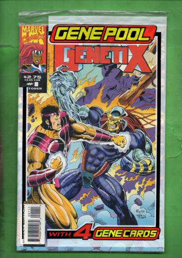 Genetix Vol. 1 #1 Oct 93 (avaamaton pakkaus, sisältää kortit)