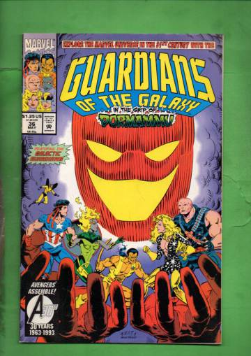Guardians of the Galaxy Vol. 1 #36 May 93