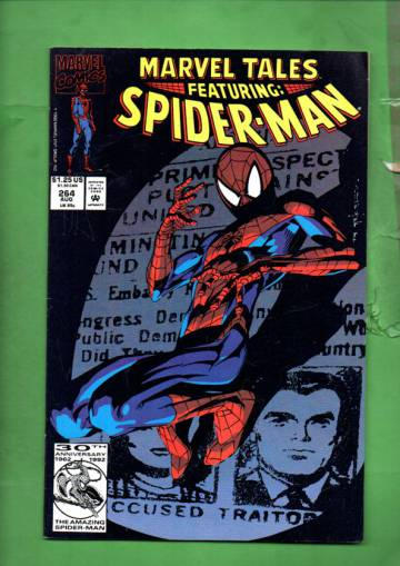Marvel Tales Featuring Spider-Man Vol. 1 #264 Aug 92