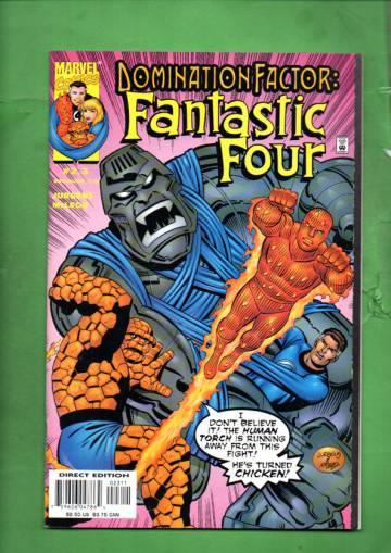 Domination Factor: Fantastic Four Vol. 1 #2 Dec 99