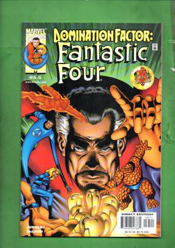 Domination Factor: Fantastic Four Vol. 1 #3 Jan 00