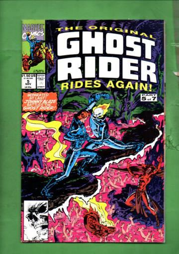The Original Ghost Rider Rides Again Vol. 1 #5 Nov 91