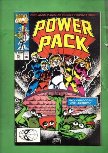 Power Pack Vol. 1 #60 Nov 90
