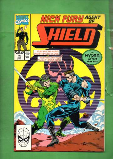 Nick Fury, Agent of S.H.I.E.L.D. Vol. 2 #14 Aug 90