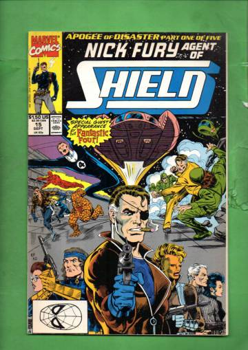 Nick Fury, Agent of S.H.I.E.L.D. Vol. 2 #15 Sep 90