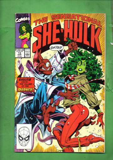 The Sensational She-Hulk Vol. 2 #13 Mar 90