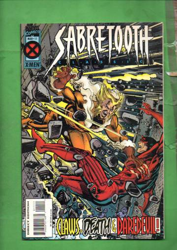 Sabretooth Classic Vol. 1 #11 Mar 95