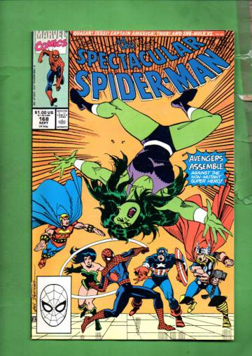 The Spectacular Spider-Man Vol. 1 #168 Sep 90