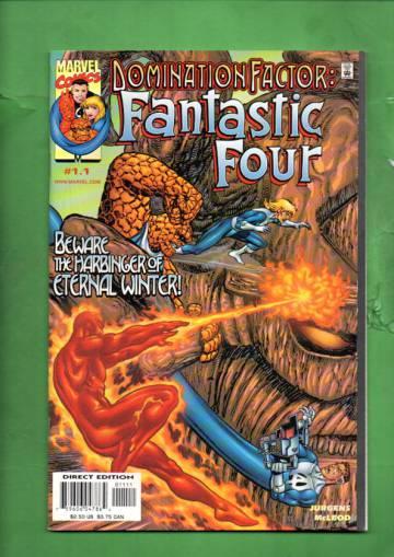 Domination Factor: Fantastic Four Vol. 1 #1 Dec 99
