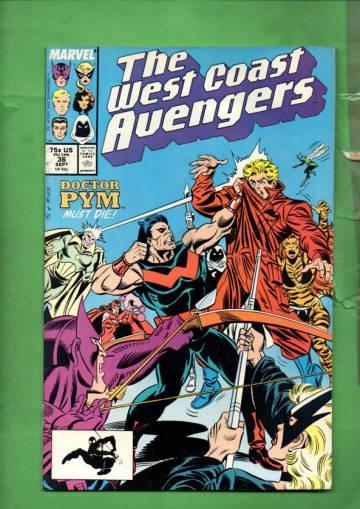 West Coast Avengers Vol. 2 #36 Sep 88