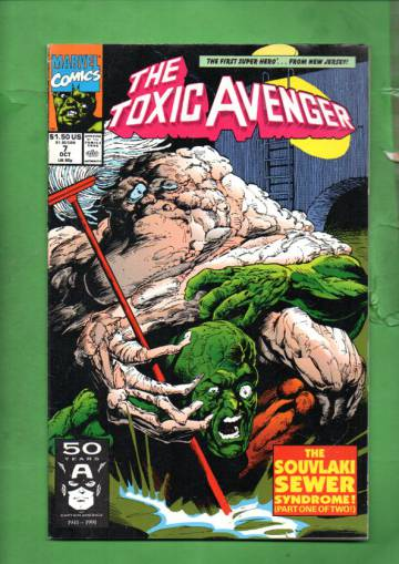 Toxic Avenger Vol. 1 #7 Oct 91